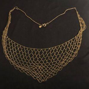 J. Crew Net Necklace